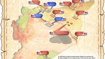 Suriye'de ABD Askeri Üsleri/Tesisleri